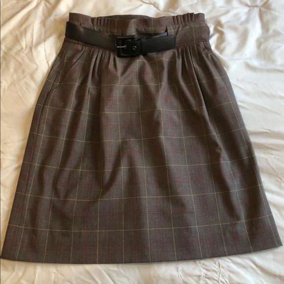 Etcetera Dresses & Skirts - Etcetera Plaid skirt